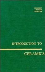Introduction to Ceramics PDF