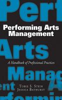 Performing Arts Management PDF