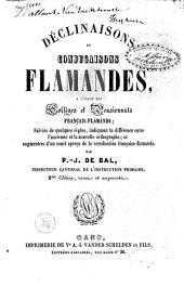 Déclinaisons et conjugaison flamandes: à l'usage des collèges et pensionnats français-flamands