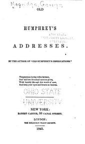 Old Humphrey's Addresses