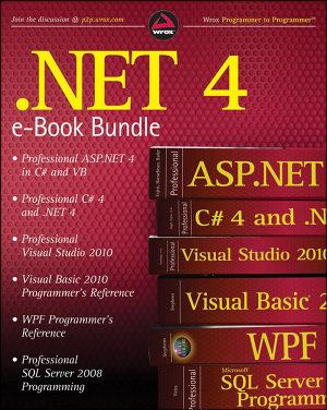 NET 4 Wrox eBook Bundle