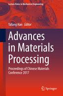 Advances in Materials Processing PDF