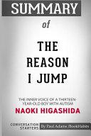 Summary of The Reason I Jump by Naoki Higashida
