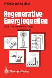 Regenerative Energiequellen: Ausgabe 2