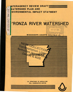 Tyronza River Watershed  Mississippi County PDF
