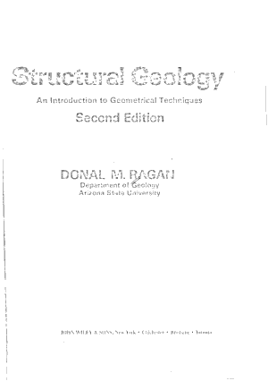 Structural Geology PDF