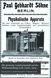 Die deutsche Landwirtschaft auf der Weltausstellung in St. Louis, 1904 ...