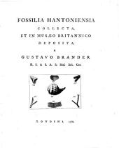 Fossilia Hantoniensia Collecta, Et In Musaeo Britannico Deposita