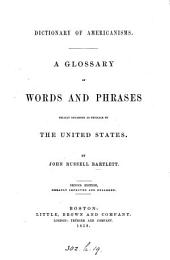 Dictionary of Americanisms, 2nd ed. enlarged