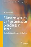 A New Perspective on Agglomeration Economies in Japan PDF