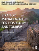 Strategic Management for Hospitality and Tourism