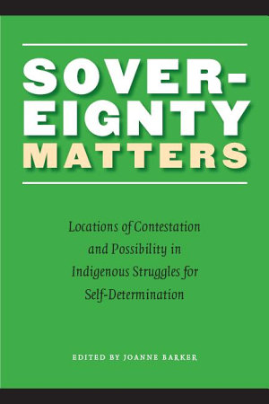 Sovereignty Matters PDF