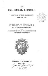 An inaugural lecture, delivered ... 1836