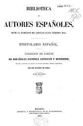 Epistolario español: coleccíon de cartas de españoles ilustres antiguos y modernos, Volumen 2