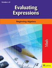 Evaluating Expressions: Beginning Algebra