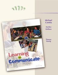 Learning To Communicate Book PDF