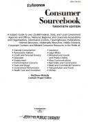 Consumer Sourcebook PDF