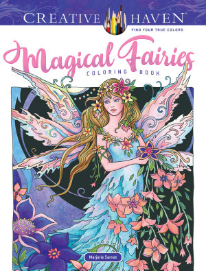 Creative Haven Magical Fairies Coloring Book