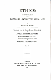 The principles of morality and the departments of the moral life. 2d ed. 1907
