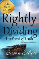Rightly Dividing The Word of Truth Large Print PDF