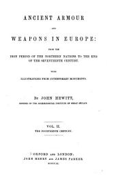 Ancient Armour and Weapons in Europe: The fourteenth century