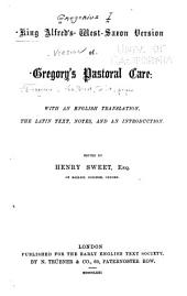 King Alfred's West-Saxon version of Gregory's Pastoral care: Volume 2