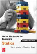 VECTOR MECHANICS FOR ENGINEERS  STATICS  SI