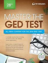 Master the GED Test, 28th Edition: Edition 28
