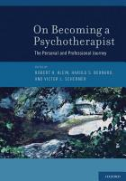 On Becoming a Psychotherapist PDF