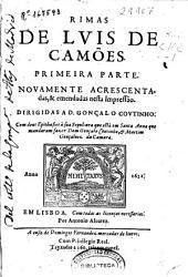 Rimas de Luis de Camões: primeira parte