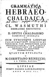 Grammatica hebraeo-chaldaica