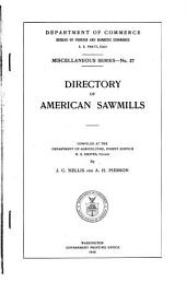 Directory of American Sawmills