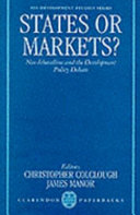 States Or Markets?
