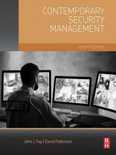 Contemporary Security Management: Edition 4
