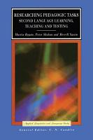 Researching Pedagogic Tasks PDF