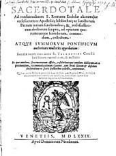 Sacerdotale Romanum