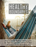 Healthy Boundaries PDF