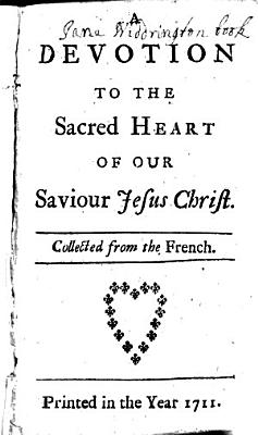 A Devotion to the Sacred Heart of Our Saviour Jesus Christ