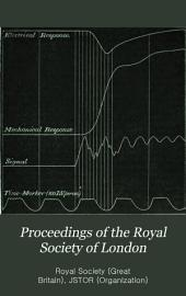 Proceedings of the Royal Society of London: Volume 48