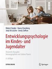 Entwicklungspsychologie im Kindes- und Jugendalter: Ausgabe 4