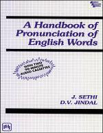A HANDBOOK OF PRONUNCIATION OF ENGLISH WORDS