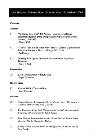Left History PDF