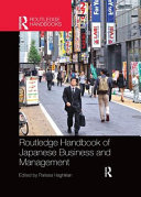 Routledge Handbook of Japanese Business and Management PDF