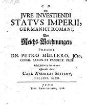 De jure investiendi status Imperii germanici romani, Von Reichs-Belehnungen