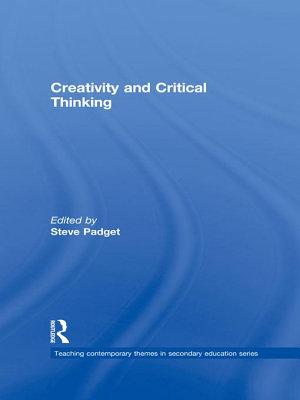 Creativity and Critical Thinking