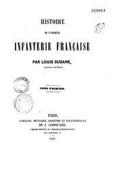 Histoire de l'ancienne infanterie française