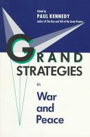 Grand Strategies in War and Peace PDF
