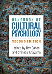 Handbook Of Cultural Psychology Second Edition Book PDF