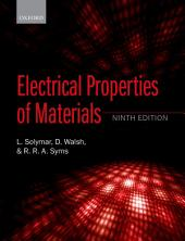 Electrical Properties of Materials: Edition 9