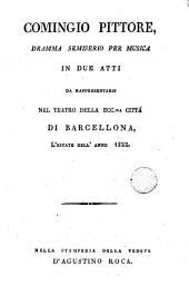 Comingio pittore: dramma semiserio per musica